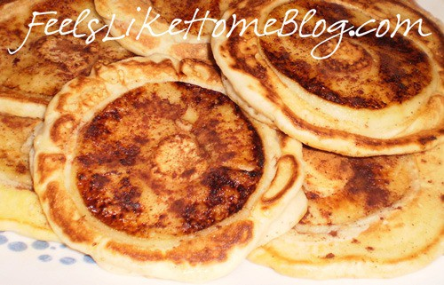 APPLE RING PANCAKES