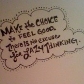 My Goal for 2012 – No More Excuses