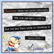Teaching Morals to a Kindergartener (featuring the We Choose Virtues Homeschool Kit)