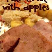 Ham and Rice with Apples – Leftover Ham Recipe