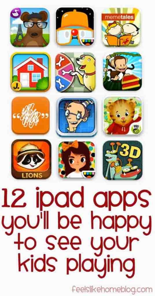 The best kids iPad apps