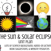 The Sun – Elementary Science Unit Plan and Interactive Activities