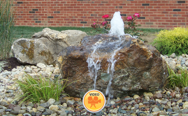 bubbling boulders - ambiance gardens
