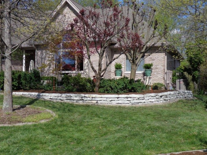 Stone Walls Amp Steps Ambiance Gardens Landscapes