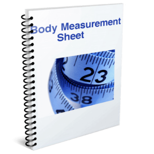 body measurement sheet how to lose belly fat