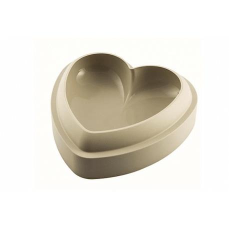 moule pour gateau 3d en silicone coeur
