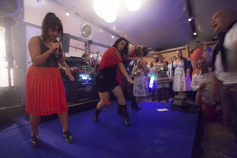 Jubileumfeest Moderne Strandtent Bries Noordwijk feestband com