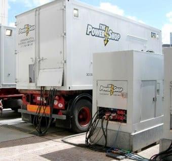 aggregaat stroom live band power generator