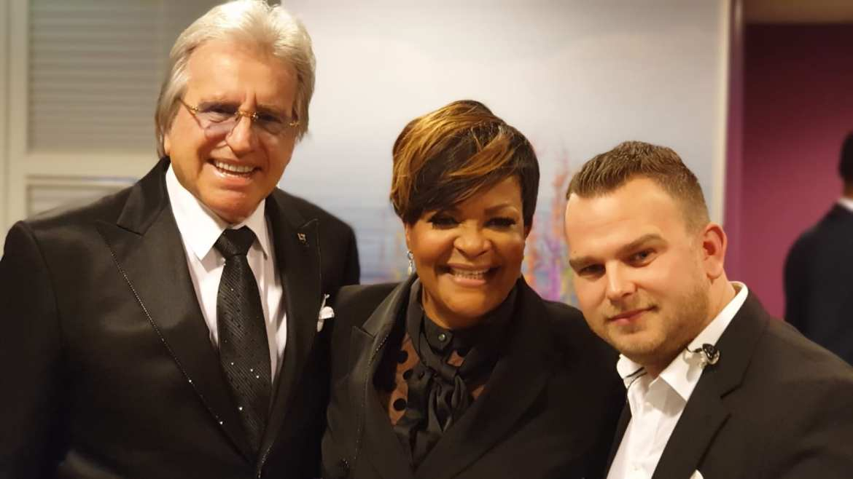 McDonalds in galasfeer met Lee Touwers en Ruth Jacott in Rotterdam | feestband.com