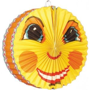Lampion Smiling Moon 28 cm brandvertragend