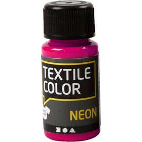 textielverf neon roze