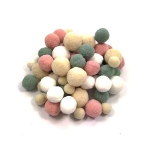 pompoms 4 kleuren