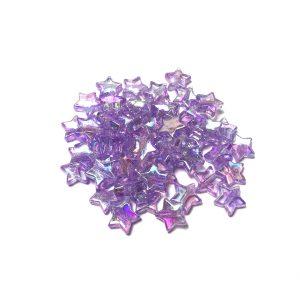 sterren kralen lila paars