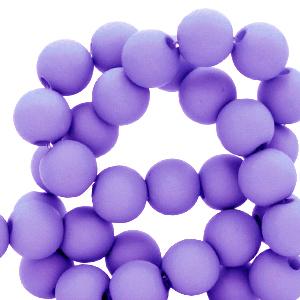 acryl kralen mat ultra violet purple