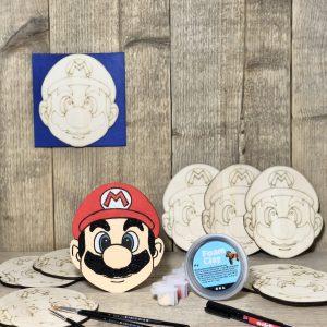 Super Mario knutselen kinderfeestje