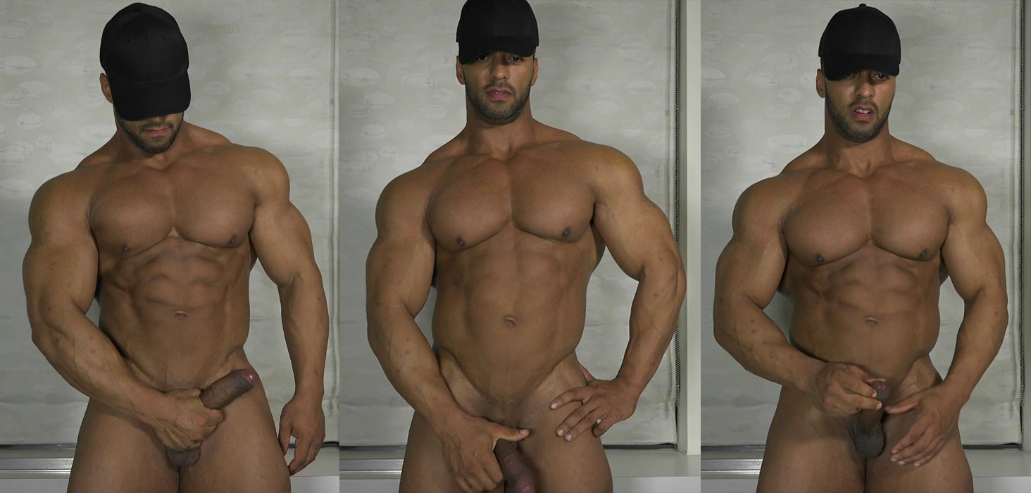 Splendid  wonder latino muscle cock body really