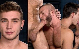 Raging Stallion XXXPOSURE Alexander Greene, Theo Ford big uncut cock feat