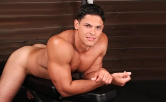 SeanCody Carlos latino Puerto Rican Dominican big uncut cock solo masturbation gay porn male feet tall men feat