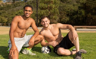 Sean Cody Kellin Philip Gay Bareback Interracial Porn Male Feet Uncut Cock Muscle Jock Hairy Chest feat