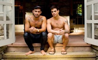 CockyBoys Meet The Morecocks 3 Levi Karter Ricky Roman Flip-Fuck Gay Condom Sex Male Feet Tattoos Latino Guys Facial Cum feat