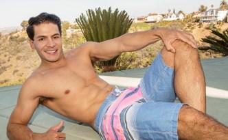 Sean Cody Felix Solo Masturbation Scene Hung Latino Cuban Fat Uncut Cock Closeups Armpit Furry Butt Foot feat
