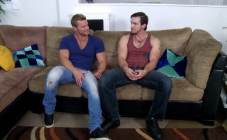 MEN Str8 To Gay Romeo and Mercutio Landon Conrad Phenix Saint Gay Condom Sex Cock Ring Male Feet feat