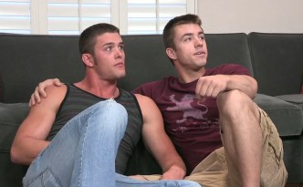 Sean Cody Marshall Fucks Pierce Gay Bareback Sex Male Feet BlowJob Closeup Tattoos Facial Cumshot Big Cock Hard Pounding feat