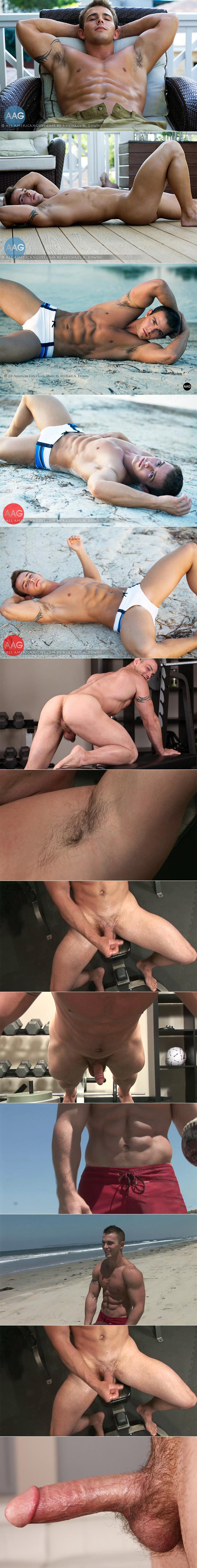 Sean Cody Wade aka Tory George aka Ian Turner Solo Masturbation Scene Male Feet Closeup Hairy Asshole & Cock 2