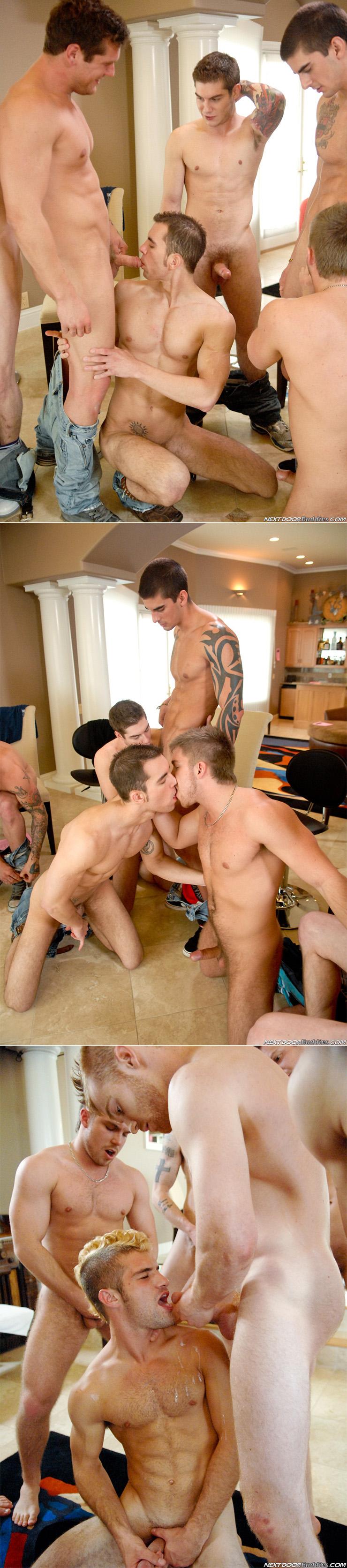 NextDoorBuddies The Rectodus Society Gay Condom Orgy Male Feet Big Cocks Group Sex Bukkake Incl Tyler Torro James Jamesson Adam Wirthmore 1