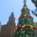 Christmas in Melbourne city: a photo collage