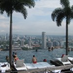 Singapore: The pool in the sky
