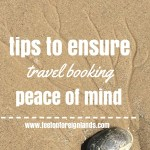 Travel booking peace of mind