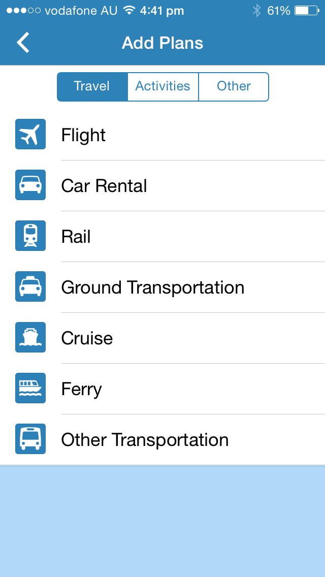 Travel app review no 1: TripIt - Feet on Foreign Lands