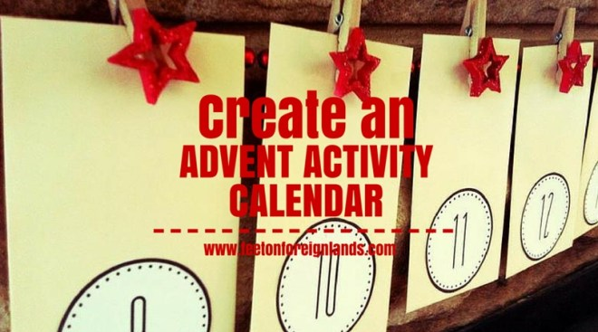 Advent Activities In Australia Feet On Foreign Lands