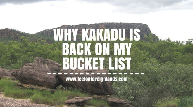 Why Kakadu is back on my bucket list