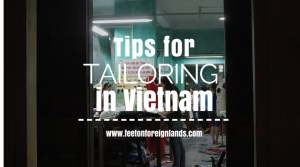 Tips for tailoring in Vietnam