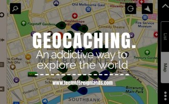Geocaching for newbies: www.feetonforeignlands.com