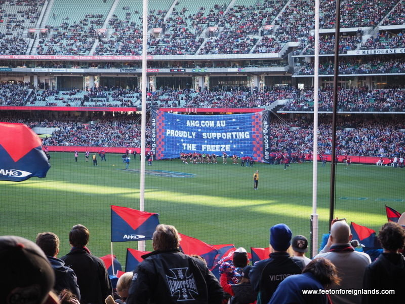 Going to the footy in Melbourne: a visitor's guide - Feet on