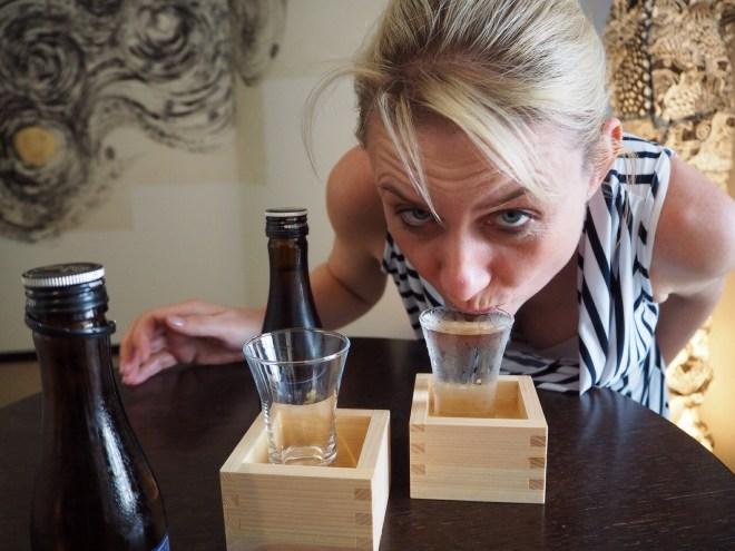 Sake in Tokyo
