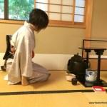 Juan tea ceremony workshop in Kyoto