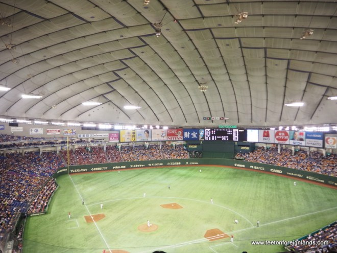 Things to do in Tokyo: see a baseball game
