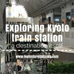 Exploring Kyoto's train station