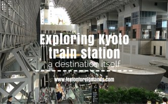 Kyoto train station: www.feetonforeignlands.com