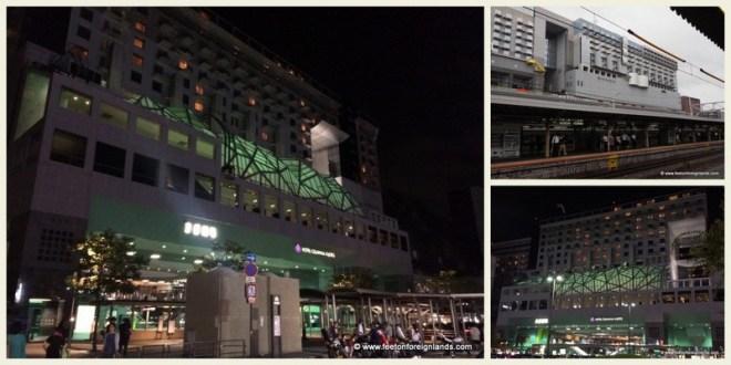 Hotel Granvia - Kyoto train station: www.feetonforeignlands.com