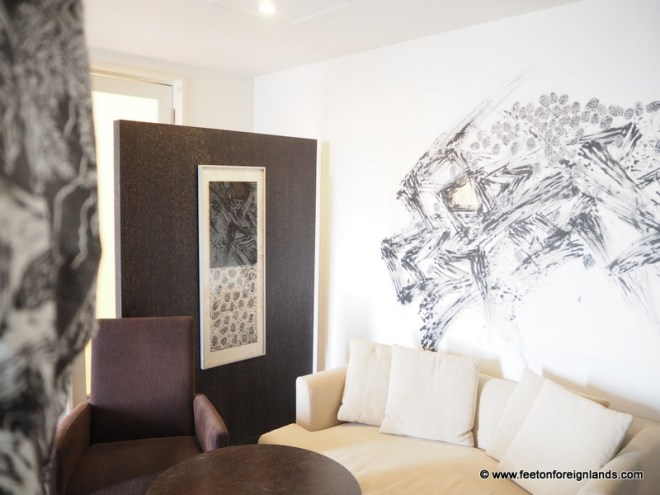 Park Hotel Tokyo's Artist Rooms: www.feetonforeignlands.com