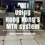 Using Hong Kong's MTR system