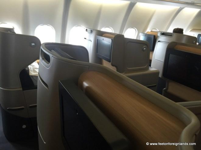 Qantas business class (5)