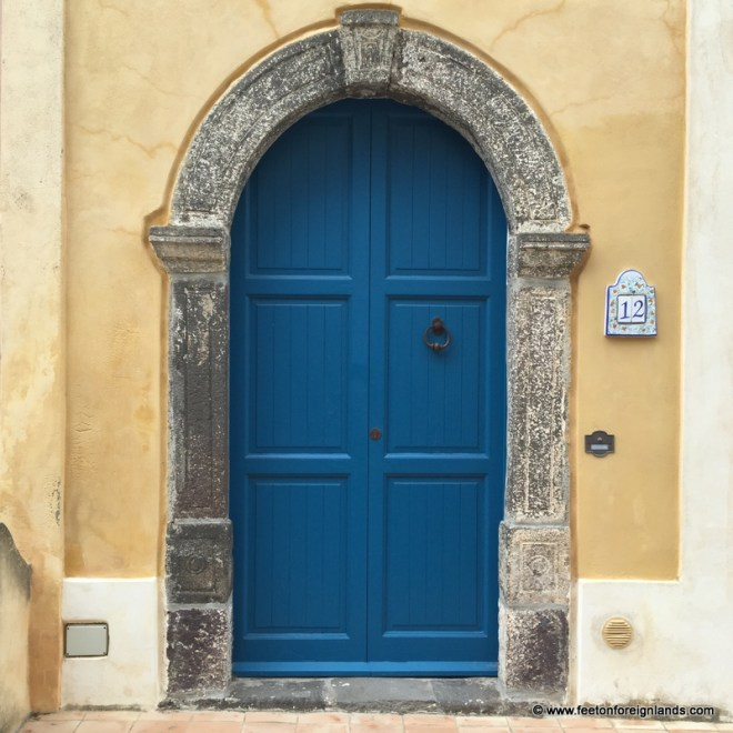 Doorways of Salina in the Aeolian Islands (2)