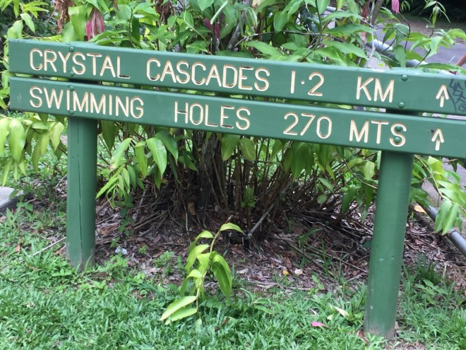 Crystal Cascades Cairns