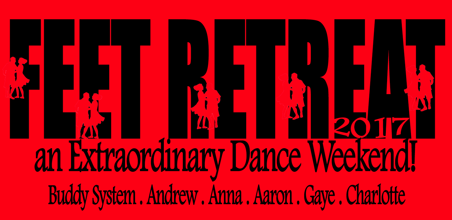 Feet Retreat 2017 - an Extraordinary Dance Weekend shirt